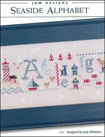 Seaside Alphabet by JBW Designs Counted Cross Stitch Pattern