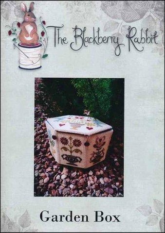 Garden Box by The Blackberry Rabbit Counted Cross Stitch Pattern