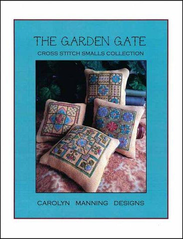 Garden Gate Cross Stitch Smalls by CM DESIGN Counted Cross Stitch Pattern