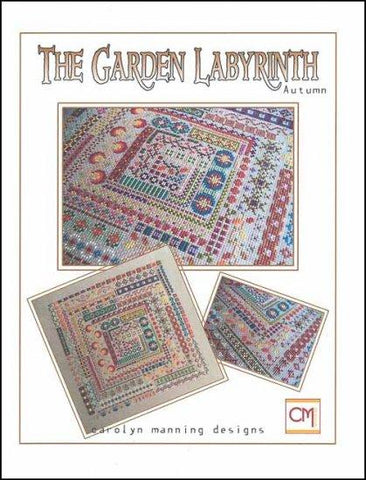 Garden Labyrinth: Autumn Cross Stitch Smalls by CM DESIGN Counted Cross Stitch Pattern