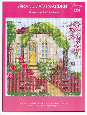 Grandma's Garden by Imaginating Counted Cross Stitch Pattern