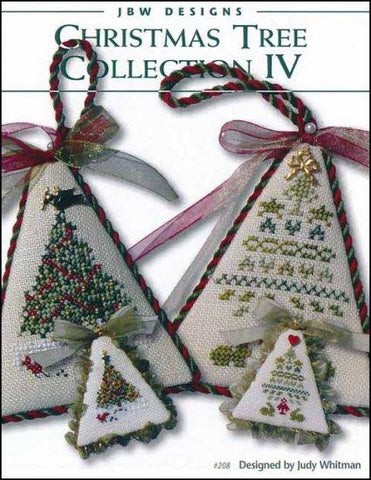 Christmas Tree Collection 4 by JBW Designs Counted Cross Stitch Pattern