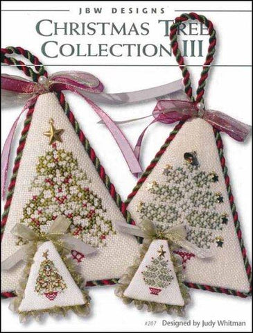 Christmas Tree Collection 3 by JBW Designs Counted Cross Stitch Pattern