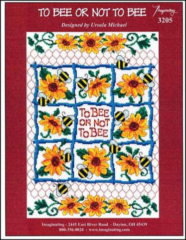 To Bee Or Not To Bee by Imaginating Counted Cross Stitch Pattern