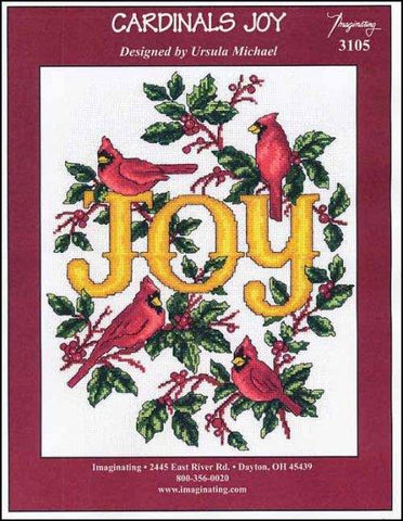 Cardinals Joy by Imaginating Counted Cross Stitch Pattern
