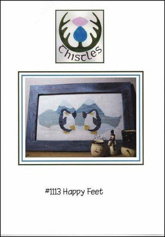Happy Feet by Thistles Counted Cross Stitch Pattern