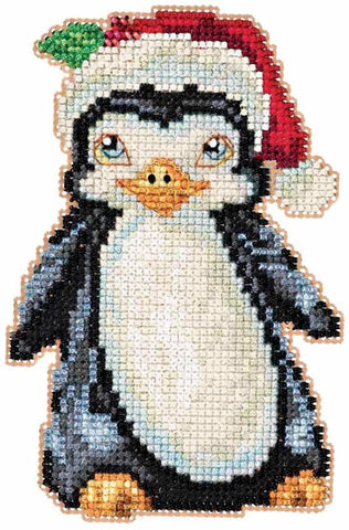 Penguin by Jim Shore Counted Cross Stitch Kit -Mill Hill