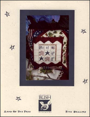Land Of The Free By Shepherd's Bush Printworks Counted Cross Stitch Pattern