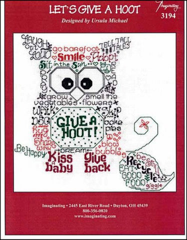 Let's Give A Hoot by Imaginating Counted Cross Stitch Pattern