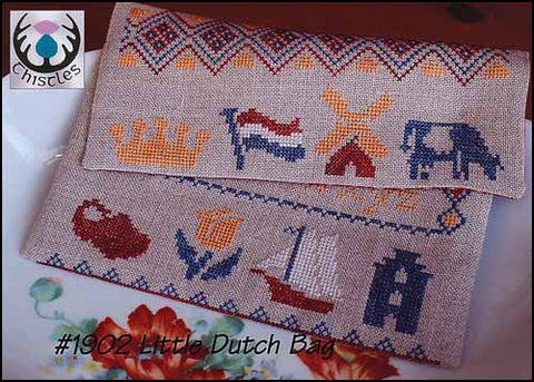 Little Dutch Bag by Thistles Counted Cross Stitch Pattern