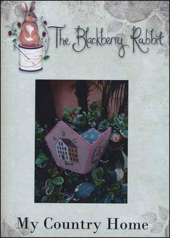 My Country Home by The Blackberry Rabbit Counted Cross Stitch Pattern