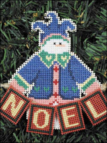 SNOW FOLKS ORNAMENT KIT Noel Snow Snowman