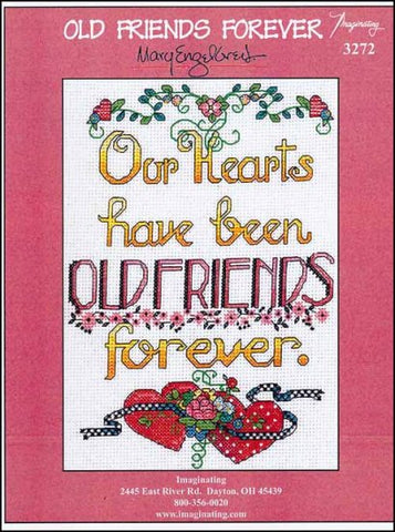 Old Friends Forever by Imaginating Counted Cross Stitch Pattern