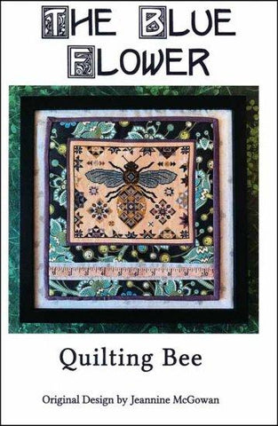 Quilting Bee by The Blue Flower Counted Cross Stitch Pattern