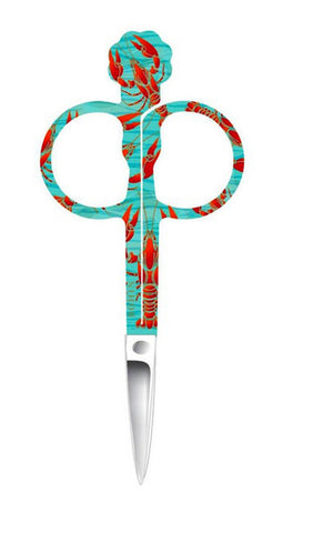 BOHIN SEA LIFE  MARINE EMBROIDERY SCISSORS-Lobster