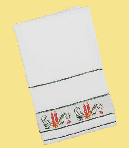 Charles Craft SEVILHA CANDLE KITCHEN TOWEL