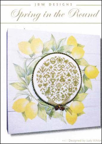 Spring In The Round by JBW Designs Counted Cross Stitch Pattern