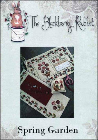 Spring Garden by The Blackberry Rabbit Counted Cross Stitch Pattern