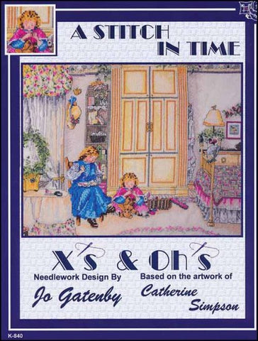 Stitch In Time By X's & Oh's  Counted Cross Stitch Pattern