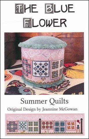 Summer Quilts by The Blue Flower Counted Cross Stitch Pattern