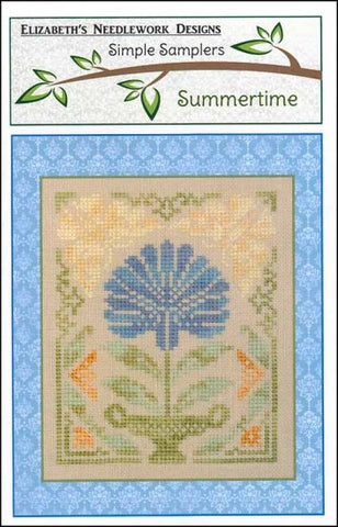 Summertime by Elizabeth's Needlework Designs Counted Cross Stitch Pattern