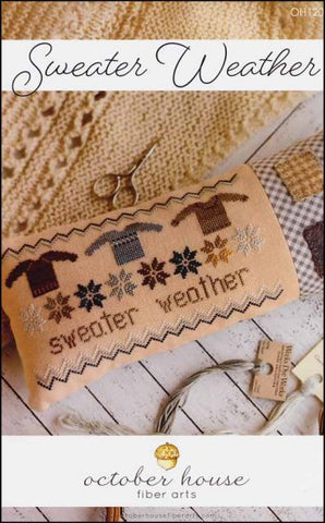 Sweater Weather by October House Counted Cross Stitch Pattern