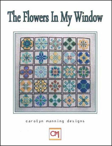 The Flowers In My Window by CM DESIGN Counted Cross Stitch Pattern
