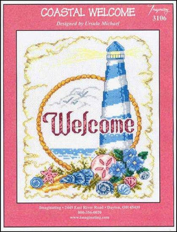 Coastal Welcome by Imaginating Counted Cross Stitch Pattern