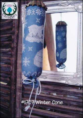 Winter Cone by Thistles Counted Cross Stitch Pattern