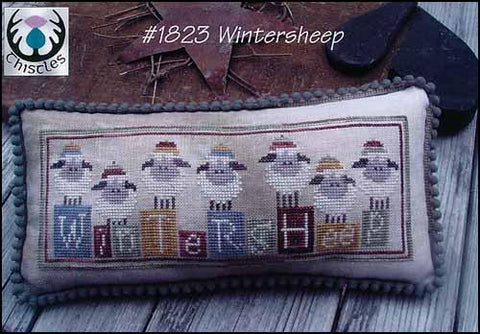 Winter Sheep by Thistles Counted Cross Stitch Pattern