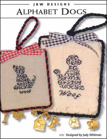 Alphabet Dogs  by JBW Designs Counted Cross Stitch Pattern