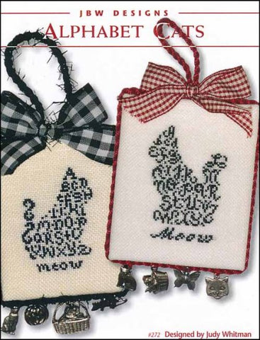 Alphabet Cats  by JBW Designs Counted Cross Stitch Pattern