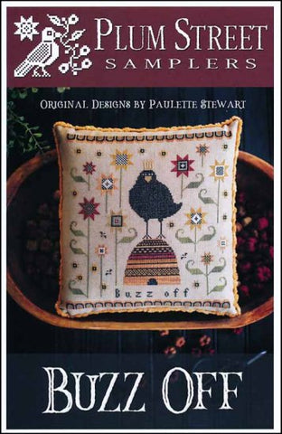 Buzz Off by Plum Street Samplers Counted Cross Stitch Pattern