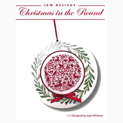 Christmas in the Round by JBW Designs Counted Cross Stitch Pattern