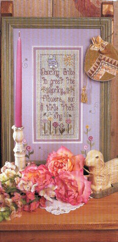 Dancing Lamb By Shepherd's Bush Printworks Counted Cross Stitch Pattern