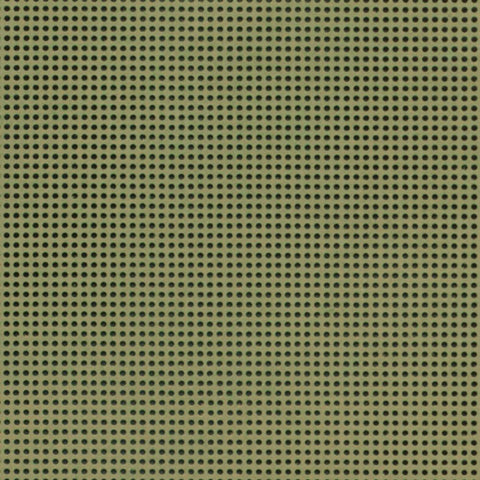 MILL HILL PERFORATED PAPER-Olive Green- Two 9