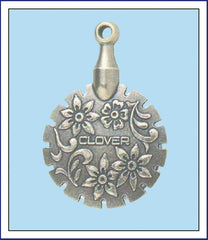 ANTIQUE SILVER THREAD CUTTER PENDANT - Orenco Originals LLC