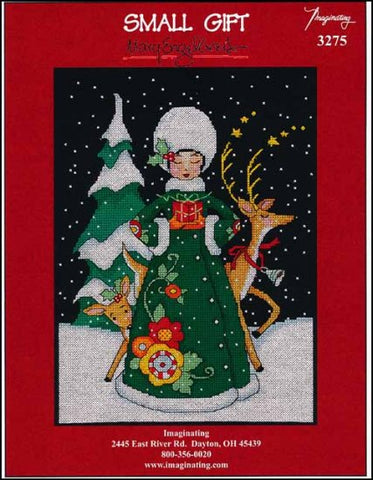 Christmas Small Gift by Imaginating Counted Cross Stitch Pattern