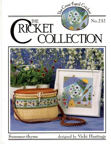 Summer Thyme by The Cross Eyed Cricket Counted Cross Stitch Pattern