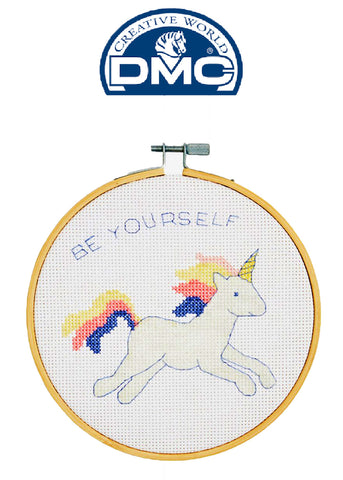 DMC Stitch Kit - UNICORN Great for a New Stitcher!