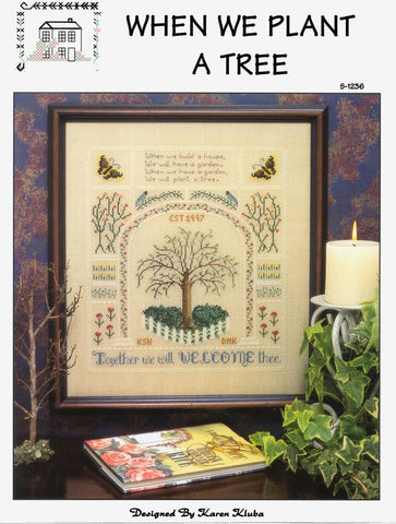 When We Plant A Tree Celtic Sampler by Rosewood Manor Counted Cross Stitch Pattern