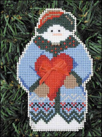 SNOW FOLKS ORNAMENT KIT Whimsey  Snow Snowman