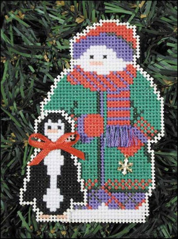SNOW FOLKS ORNAMENT KIT Willit  Snow Snowman