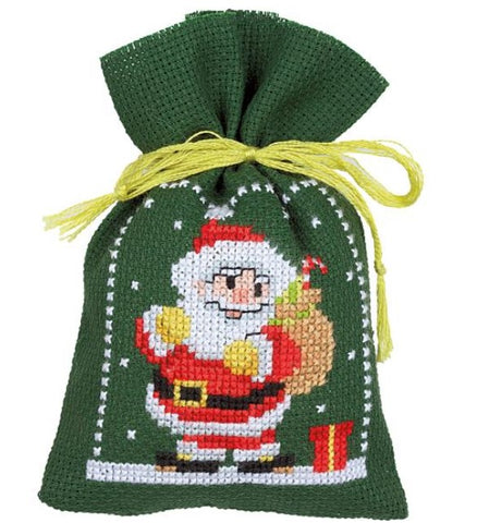 Christmas Figures by Vervaco 3 Sachet Bags Counted Cross Stitch Kit
