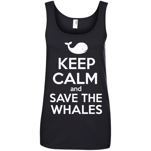 Keep Calm And Save the Whales Women's Tank Top