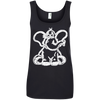 Image of Funny Elephant Stencil Women's Tank Top