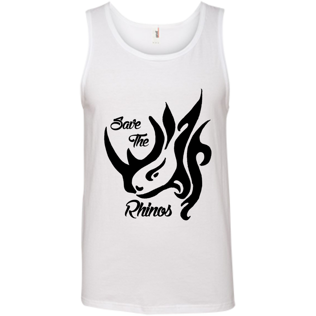 Save the Rhinos Awareness Men's Tank Top