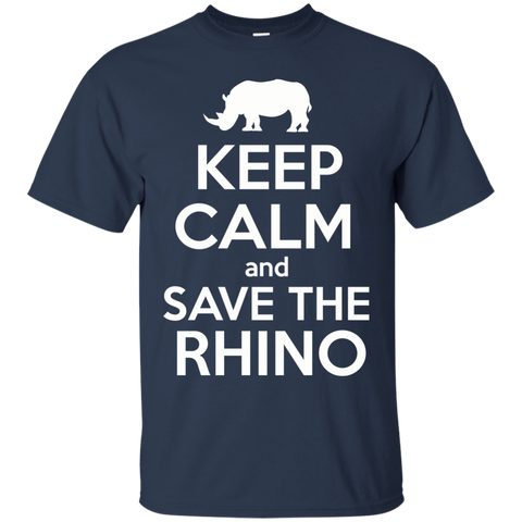 Keep Calm and Save the Rhino Unisex T-Shirt