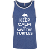 Image of Keep Calm And Save the Turtles Men's Tank Top