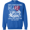 Image of Save & Care for Dog Lovers Sweatshirt